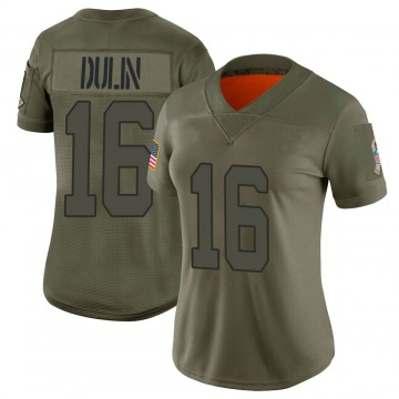 Women's Indianapolis Colts Ashton Dulin Camo Limited 2019 Salute to Service Jersey By Nike