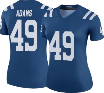 Women's Indianapolis Colts Matthew Adams Royal Legend Color Rush Jersey By Nike