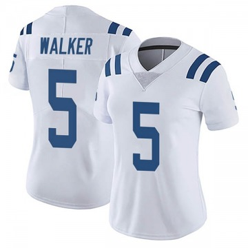 Women's Indianapolis Colts Phillip Walker White Limited Vapor Untouchable Jersey By Nike