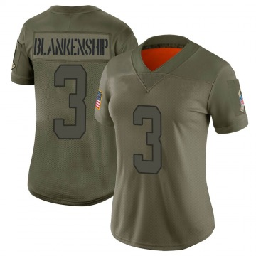 Women's Indianapolis Colts Rodrigo Blankenship Camo Limited 2019 Salute to Service Jersey By Nike