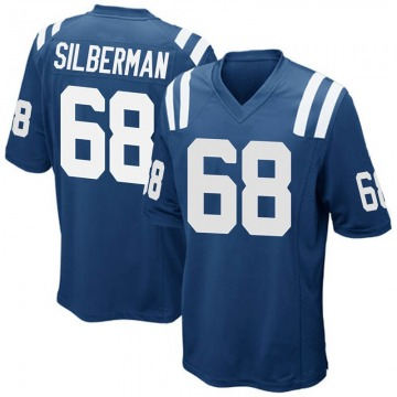 Youth Indianapolis Colts Ian Silberman Royal Blue Game Team Color Jersey By Nike