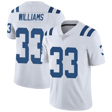 Youth Indianapolis Colts Jonathan Williams White Limited Vapor Untouchable Jersey By Nike