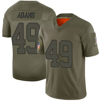 Youth Indianapolis Colts Matthew Adams Camo Limited 2019 Salute to Service Jersey By Nike