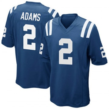 Youth Indianapolis Colts Rodney Adams Royal Blue Game Team Color Jersey By Nike
