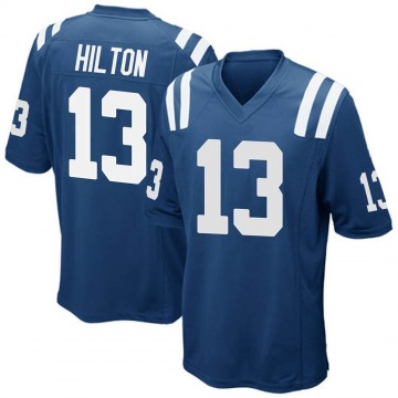 Youth Indianapolis Colts T.Y. Hilton Royal Blue Game Team Color Jersey By Nike